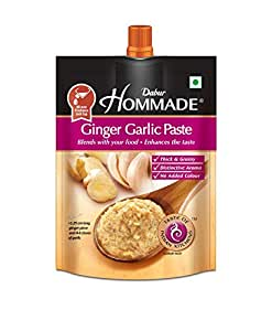 Dabur Hommade Ginger Garlic Paste 200g