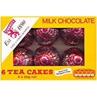 El Tunnock Tea Cakes Milk Chocolate 6 x 24g