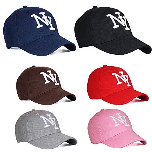 Baseball Cap NY Mütze Unisex Unifarben New York Basecap Hut Herren / Damen