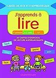 Cartes de jeux et d'apprentissage - J'apprends à lire (6-7 ans): 50 cartes d'exercices de lecture super amusants
