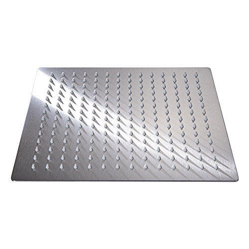 35 Off On Brushed Stainless Steel Yodel 12 Inch Square Rain