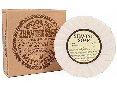Mitchell's Wool Fat Lanolin Shaving Soap Refill