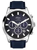 s.Oliver Time Herren-Armbanduhr SO-3336-LC