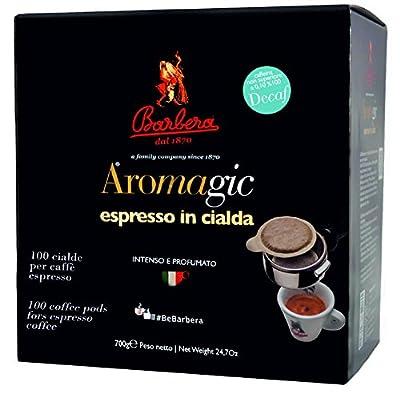 Ese Coffee Pods Decaffeinated Premium Italian Espresso | 50% Arabica 50% Robusta | 100 x 44mm