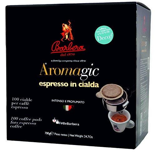 Ese Kaffeepads Entkoffeiniert Premium Italienischer Espresso | 50% Arabica 50% Robusta (100)