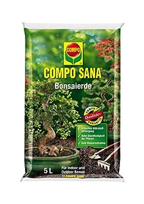 Compo Sana Bonsaierde mit 8 Wochen Dünger für Alle Zimmer- und Freilandbonsai, Kultursubstrat von Compo auf Du und dein Garten