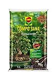 COMPO SANA Bonsaierde mit 8 Wochen Dünger für alle Zimmer- und Freilandbonsai, Kultursubstrat, 5 Liter -