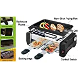 Inglis Lady L New Electric Barbecue Grill And Tandoor With Frying And Roasting Function Easy Use Kitchen Tool Portable Grill Machine