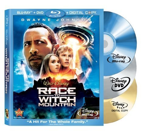 Race to Witch Mountain (Three-Disc Edition: Blu-ray/DVD/Digital Copy) by Dwayne Johnson Race To Witch Mountain