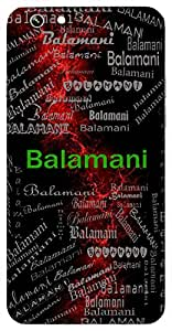 Balamani (Young Jewel) Name & Sign Printed All over customize & Personalized!! Protective back cover for your Smart Phone : Lenovo Zuk Z1