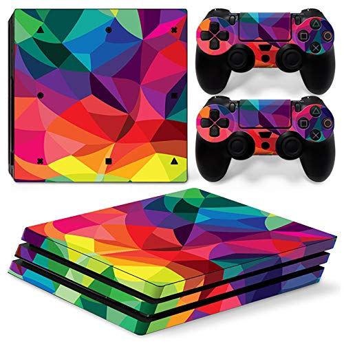 QPZYB Custom Skin Sticker for Sony PS4 Pro Console and Controller Skin