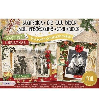 Studio Light Stanzblock A5 für 6 Karten