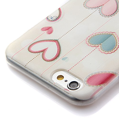 Etche Boîtier en caoutchouc pour iPhone 6 Plus/6S Plus,Cas de TPU pour iPhone 6 Plus/6S Plus,Coque pour iPhone 6 Plus/6S Plus,Colorful série Imprimé Housse de la peau de pare-chocs TPU Soft en caoutch TPU #22