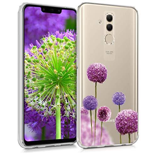 kwmobile Huawei Mate 20 Lite Hülle - Handyhülle für Huawei Mate 20 Lite - Handy Case in Pink Violett Transparent