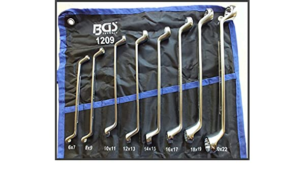 BGS 1214-6x7 Double Ring Spanner 6 x 7 mm offset