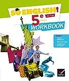 So English! Anglais 5e Éd. 2017 - Workbook