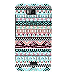 For Huawei Honor Bee :: Huawei Honor Bee Y5c Pattern, Multicolor, nice pattern, Great pattern, Printed Designer Back Case Cover By CHAPLOOS