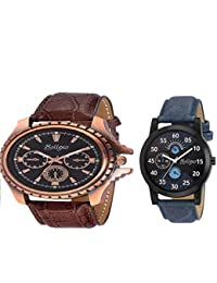 Bollexo Stylish Classy Party Wear Watches For Mens And Boys Combo Of 2 Analog Watch - For Men
