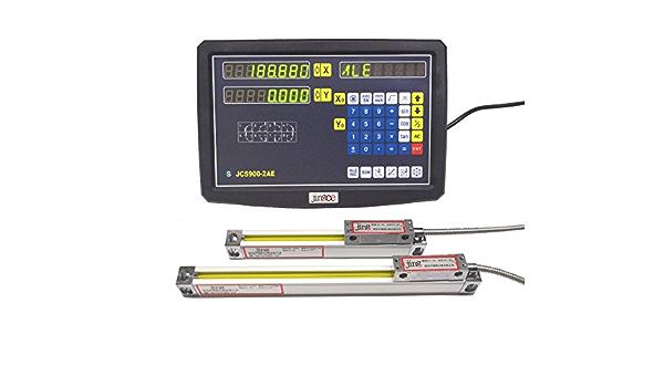 Mophorn /Échelle Lin/éaire Balance lin/éaire 950MM de Machine-outil de Fraiseuse dAffichage Num/érique dAxe pour la fraiseuse 950MM