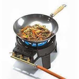 Hot Wok Hw3711 Set Wok Bruciatore Giardino E