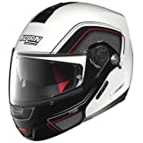 Nolan N91EVO Ammersee casco de moto con visera de policarbonato con sistema de comunicación N-Com color blanco brillante