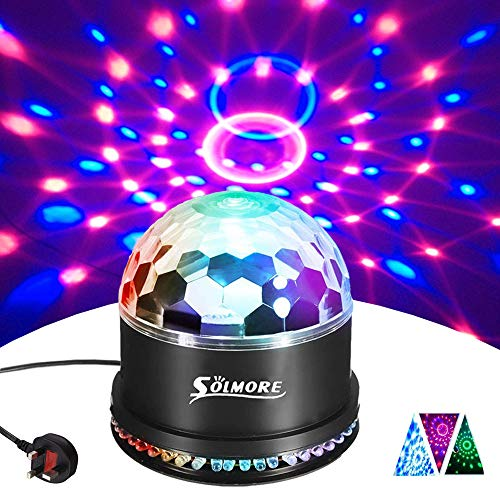 Speakers Consumer Electronics Hospitable Bluetooth Mp3 Crystal Magic Rotating Ball 9 Colors Led Rgb Disco Stage Lamp Fixing Prices According To Quality Of Products