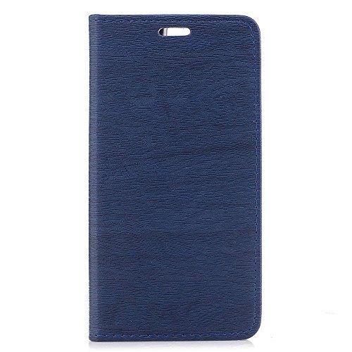Wendapai Oukitel K6000 Pro-Schutz Excellence Brieftasche Stil Flip Hülle Hülle zum Oukitel K6000 Pro ONLY (Oukitel K6000 Pro Hülle Blue)