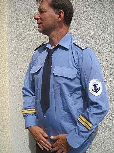 LAGERMAULWURF.de Marine Diensthemd Kapitän zur See Matrose Mottoparty Halloween (Kapitän Zur See Kostüm)