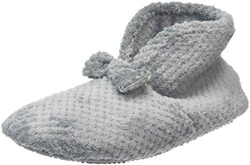 isotoner-popcorn-bootie-chaussons-femme-gris-grey-39-eu-6-uk
