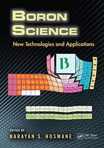 Boron Science: New Technologies and Applications (English Edition)