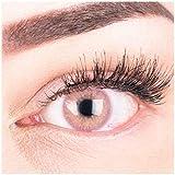 Sehr stark deckende und natürliche pinke Kontaktlinsen SILIKON COMFORT NEUHEIT farbig
