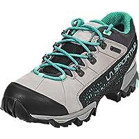 La Sportiva–Genesis GTX Zapato de Senderismo Para Mujer (gris/verde)