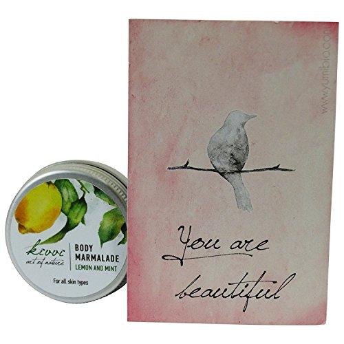 KIVVI Lemon & Mint Body Marmalade Erfrischende Pflege für jeden Hauttyp - 15 ml