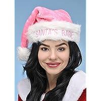 Babe cappello di rosa di Natale carino Miss Santa\