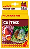 sera 04710 Cu-Test 15 ml - Kupfer Test für ca. 50 Messungen, misst zuverlässig und genau den Kupfergehalt, für Süß- & Meerwasser, im Aquarium oder Teich