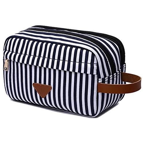 UNIVERSE Travel Kulturbeutel, bewegliche Spielraum-kosmetische Wash Bag Über Nacht Wash Gym Shaving Tasche Make-up Rasieren Dopp Kit für Frauen,Blau -
