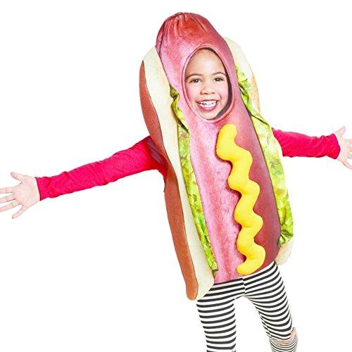 der Fasching Halloween Karneval Kostüm 2-3 Jahre (Hot Dog Kostüm Für Kinder)