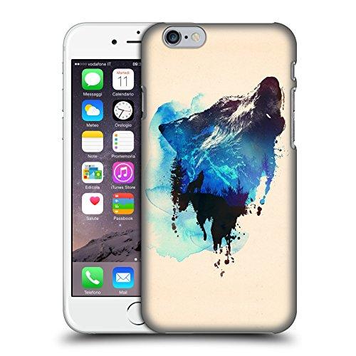 Offizielle Robert Farkas Alleine Wie Ein Wolf Tiere Ruckseite Hülle für Apple iPhone 7 Alleine Wie Ein Wolf