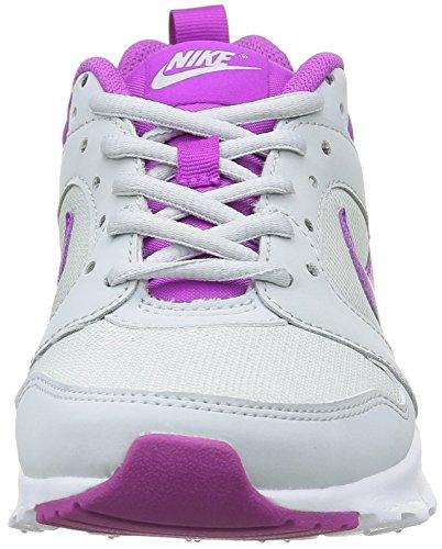 Nike - Wmns Air Max Motion, Scarpe sportive Donna Bianco (Blanco (Pure Platinum / Hypr Vlt-White))