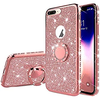 Custodia iPhone X iPhone 10 Cover Glitter SainCat Custodia in