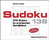 Sudoku Block 138: 200 Sudoku im praktischen Abreißblock - Eberhard Krüger