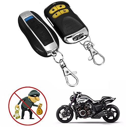 Alarmanlage für Motorräder/Kraftfahrzeuge, Diebstahlsicherung, 12Volt, duale Fernbedienung, Motorradzubehör, Diebstahlalarm Batterien 27a 12v Alarm
