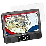 atFoliX Panzerschutzfolie für AEG DVD 4552 Panzerfolie - 3 x FX-Shock-Antireflex blendfreie stoßabsorbierende Displayschutzfolie