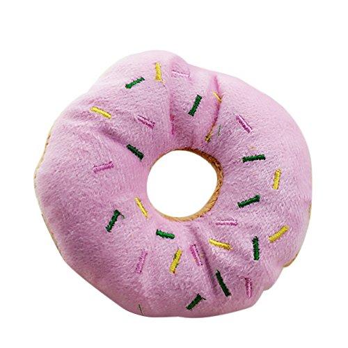 Cupcinu Juguete Peluche Mascotas Donut Juguete Sonido