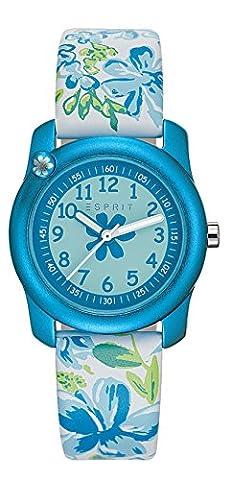 Esprit Mädchen Armbanduhr Datum klassisch Quarz Leder ES108344002