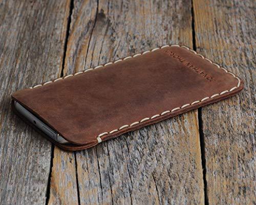Housse en cuir pour OnePlus 7 Pro, 7, 6T, 6, 5T, 5, 3T, 3, 2, One, X, Plus étui personnalisé pochette case coque cover monogramme inscrivez ... 7