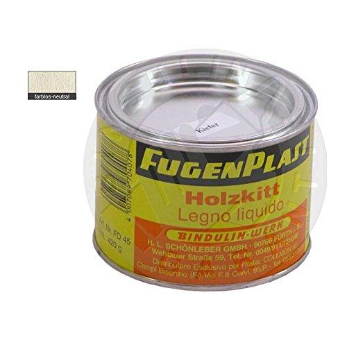 Fugenplast Holzkitt 420 gr. (farblos/neutral) -
