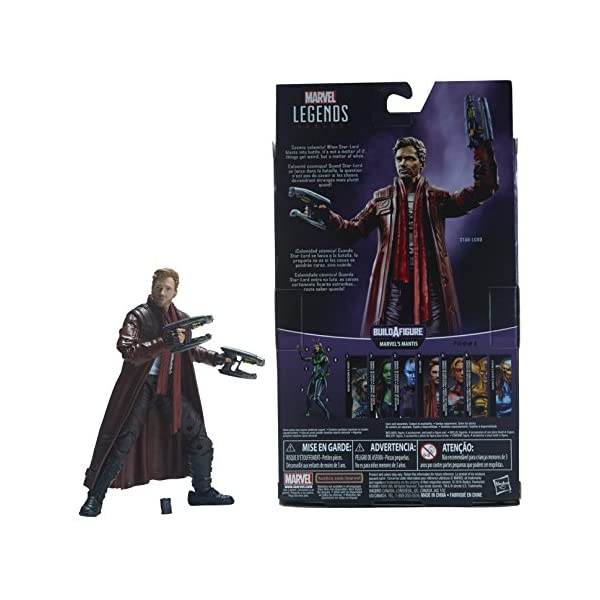 Marvel Guardianes de la Galaxy Leyendas Series Star-Lord, 15,2 cm 6