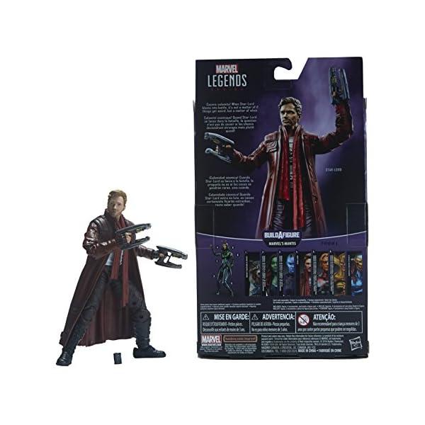 Marvel Guardianes de la Galaxy Leyendas Series Star-Lord, 15,2cm 6