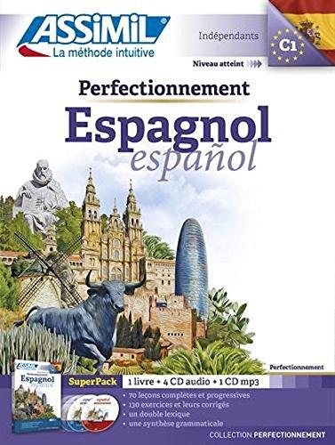 Pack MP3 Perfectionnement Espagnol (Livre + CD MP3)